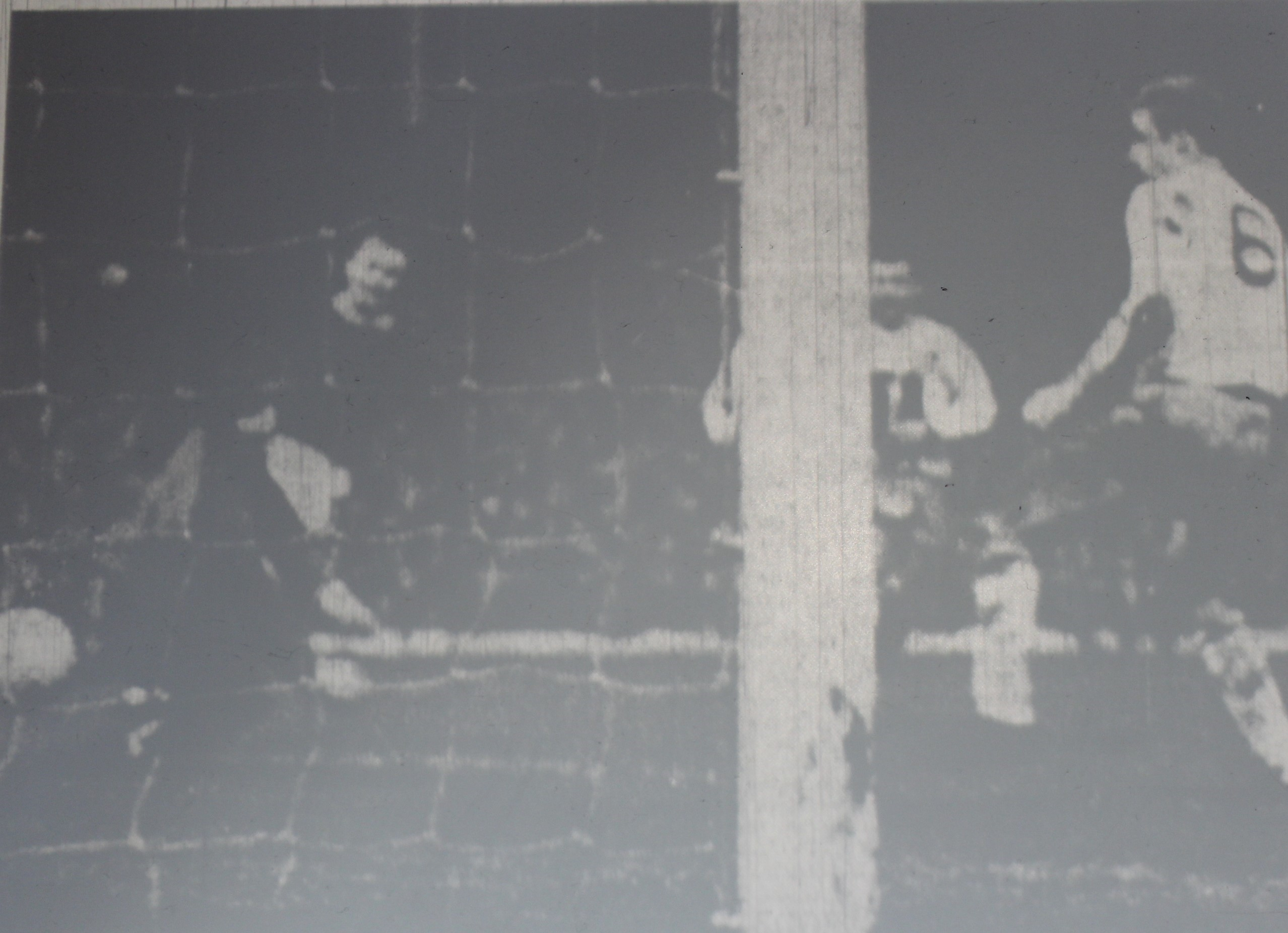 820 31.01.67 Young v Burnley (H) FA CUP Alex Young moves onto a glided pass from Alan Ball to ...JPG
