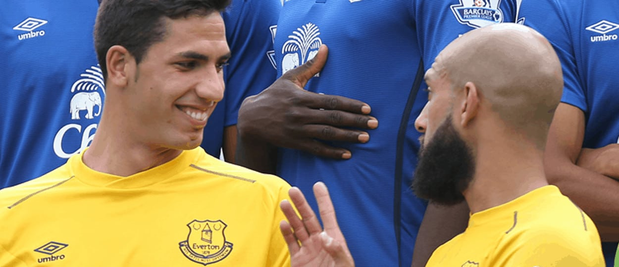 Joel Robles and Tim Howard