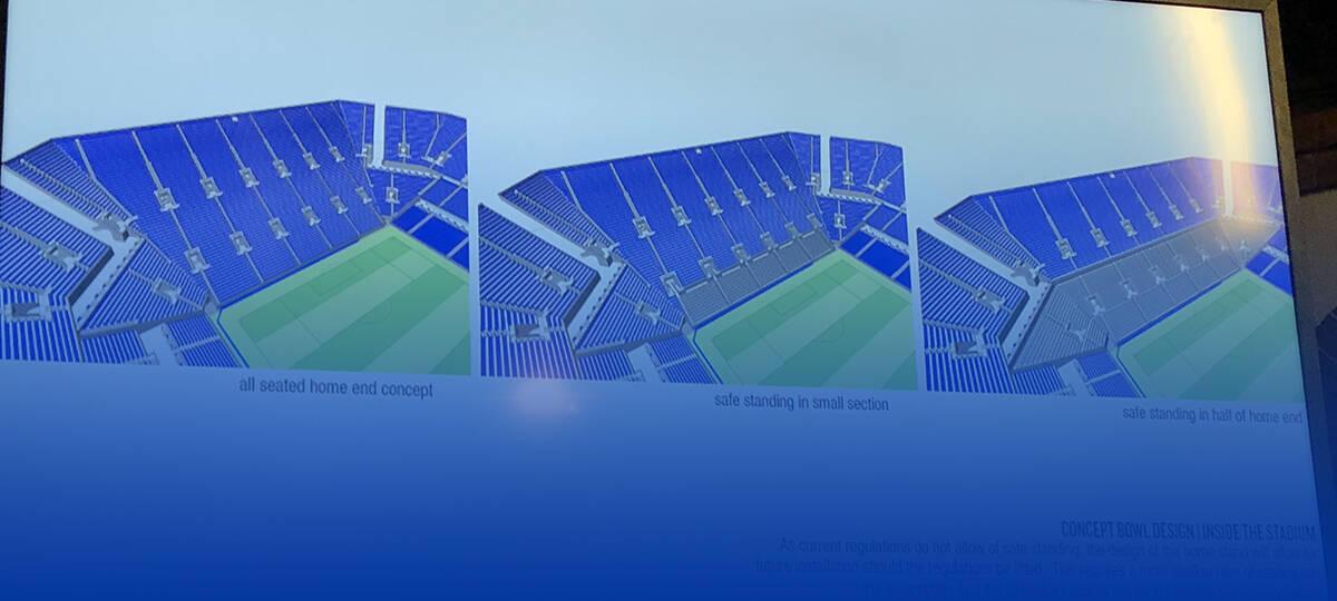 Pictures New Everton Stadium Workshop Grandoldteam